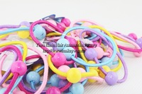 Free shipping 250pcs/lot Wholesale/Retail Cute small elastic hair band Delicated hair accessories Nice elastic hair holders Best