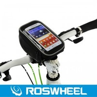 Wholesale 11810 Bike Touch Screen Phone Case Cover Accessories Bicycle Frame Front Tube Bag for 5.0inch cellphone S4 S3 5G