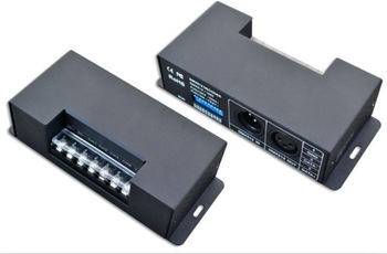 constant currant 3 way dmx led drivers,DC12-48V input, output  700mA*3ch ,0-100 dimming,25.2w-100.8w  3 years warranty
