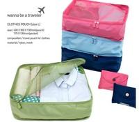 Travel Storage Bag Waterproof Clothes Organizer Pouch Suitcase Handbag HQS-G104507