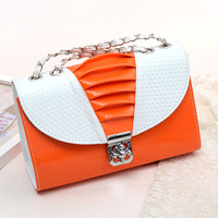 Small bags new arrival 2013 women's handbag one shoulder cross-body portable small bag ruffle fashion chain bag