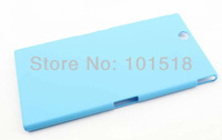 10pcs/lot Free shipping Hard Multi Color Skin Plastic Protector Cover Case For  Sony Xperia i1 Honami C6902 L39h
