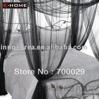 Wholesale - Large Bed Canopy,size:190cm Wx 210cm Lx 240cmH color: black-WHB-B34