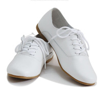 2014 New arrival women vintage casual genuine leather oxford shoes flats free shipping LL087