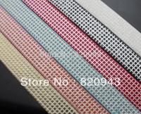 10 Stripes  square 8mm width 1m length   PU Leather Belt