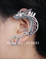 LM-C013   Earring punk dragon ear cuff fashion personality ear clip jewelry wholesale FREE SHIPPING