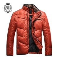 311 2013 men's clothing Men slim outerwear male down coat