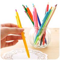 Free shipment Korea stationery pen multicolour unisex pen water-based pen brief resurrect