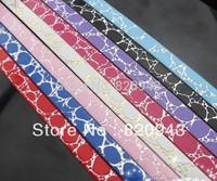 10 Stripes Crocodile PU Leather Belt 1m length Fit 8mm charm