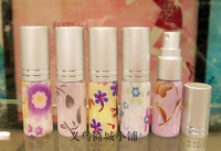 6ml Glass Perfume Fragrance Oil Atomizer spray Bottle / glass bottle spray 2258-7