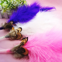 Free shipping Hot-selling 3 plush pen princess pen feather pen sign pen gift