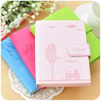 Free shipment Hearts . korea stationery small fresh leather notebook cute diary tsmip