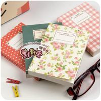 Free shipment Hearts . romantic season fresh small horizontal stripe notebook notepad tsmip korea stationery