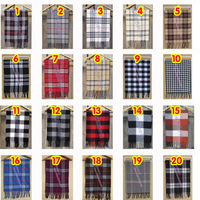 Free shipping man woman fashion designer classic Plaid faux cashmere scarf all-match spring fall winter 2013