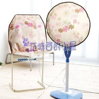 Free shipping 2 pieces/lot Redbud non-woven floor air electric fan dust proof cover square and round organizer storage bag bags