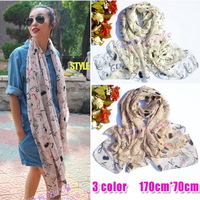 Free shipping Z brand spring fall winter lipstick high-heeled shoes scarf velvet chiffon faux silk woman long scarves 2013 shawl