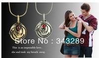 Цепочка с подвеской Fashion Stainless Steel Golden Cross Necklaces Pendants Mens Jewelry & 6 pcs/lot