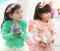 New Kids Clothing Girls Cotton Greens/Pinks Coats Jackets Sz2-7Years