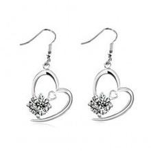 New arrival cupid arrow crystal love earrings female accessories