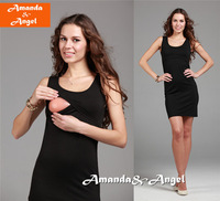 2013 new fashion Ladies' elegant maternity clothing slim tank dress Postpartum nursing equipment Fashion ol maternity  tops