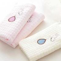 Free Shipping High Quality 100% Cotton Children Face Towel Hand Towel 10Pcs/Lot  26x50cm  JY-8039T