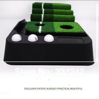 2014 new indoor plastic 2.5m 3m golf putting practice golf practice green set golf training aids indoor trainer