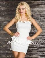 Free Shipping Perfect \Women Dress Fashion in White