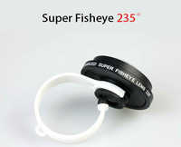 Universal Detachable 235 Degree Clip Fisheye Lens for ALL Mobile Phone and Tablet PC OEM Cell Phone Camera Lens