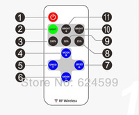 ( 10 pcs/lot ) LED  Single Color Controller With Wireless for 5630  5050 3528 Led Strip Lights