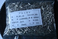 Crystal 12MHZ,SIZE 2X6  DIP, 1000pc/lot  free shipping~