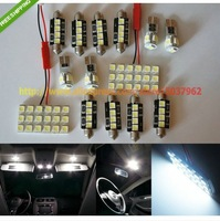 Free Shipping 14 PCS LED Interior SMD Lights KIT Error Free FOR BMW 3 Series E46 Touring