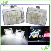 Freeshipping 5pairs  Car Auto LED License Plate Light Lamp for Benz W204 /W212 /W207 E-Class Coupe W221 /W216 Wholesale