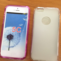 Free Shipping For Iphone 5C Anti-skid design tpu case, Soft TPU Matt Case for Iphone 5C (100xcase+100xsceen film)
