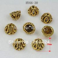 Antique Style 150pcs  Tibetan  Tone Small Flower Bead Caps free shipping 66-30