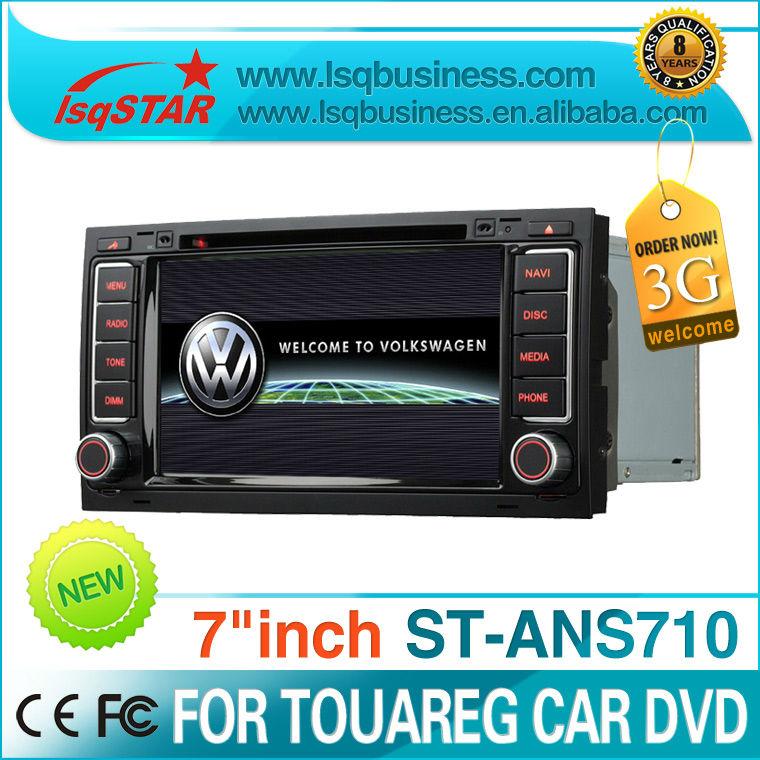 Wholesale VW Touareg /T5 car radio gps with dvd/cd/mp3/mp4/bluetooth/ipod/radio/pip/6v-cdc/tv/gps/3g! hot selling!(China (Mainland))