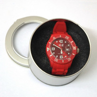 XMAS Gift High Quality Fashion Casual Display Metal Gift Box For Watch/Jewelry Bracelet/Bangle Wholesale Free P&P B042