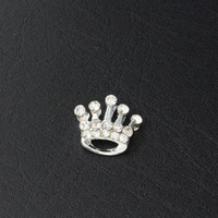 6ct Nail Art Decoration Rhinestones, Nail Tip Diamonds, 3D Nail Art Crystal, King Crown with Hot-fix Rhinestone Free Ship