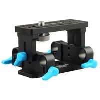 FOTGA DP3000 Tripod Mount 15mm Rod Support Base Plate for DSLR DV Follow focus rig