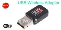 Free Shipping Mini 150M USB WiFi Wireless Network Card 802.11 n/g/b LAN Adapter