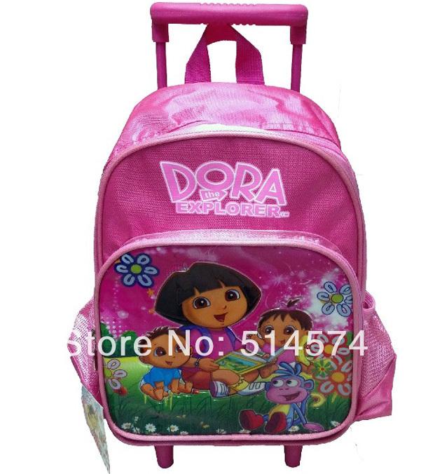 Nylon sac à dos enfant dora dora l'exploratrice sac d'école chariot ...