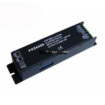 10 pcs DMX 512 Decoder driver PX24500 RGB controller for 12V 24V LED strip Bulb Lamp