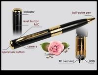 10pcs HD 1280X960 Mini Pen Camera Video Recorder pen DVR Camcorder Freeshipping