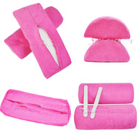 free shipping 2013 new hot sale 2 x Cleanable Removable Cover & Inner Sponge Nail Hand Rest B022 nail tools