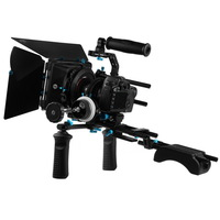 Fotga DSLR follow focus 15mm rod rail matte box handle shoulder support rig kits
