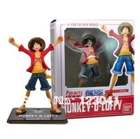 Free shipping High quality Original Package Japanese Anime One Piece Luffy PVC Figure Model Toy