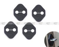 New 4PCS Car Door Striker Cover Lock Protector Antirust  for Honda Accord 2008+Toyota Camry 2011+Mazda 2 2007+   CA01429