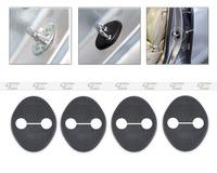 New 4PCS Car Door Striker Cover Lock Protector Antirust  for Hyundai Elantra 2011+Kia Sportage 2010+Hyundai I30 2007+   CA01430