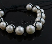 Free shipping!!!Freshwater Pearl Shamballa Bracelets,dream,bridesmaids jewelry, handmade, 9-10mm, Length:7 Inch, 10Strands/Bag