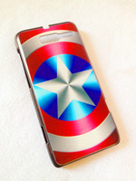 Captain America - Hard Back Case Shell Cover Protector for Motorola RAZR i XT890