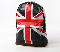 New Canvas USA American Flag Punk BackPack Shoulder Bag Handbag Duffle School(SP0174MG)
